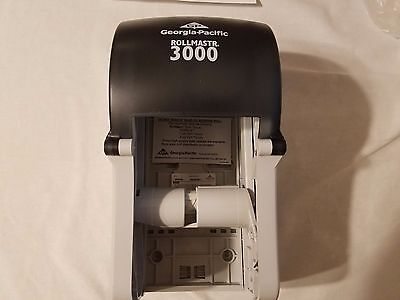Georgia  Pacific rollmaster 3000 COMMERCIAL TOILET PAPER DISPENSER (LOT OF 2)