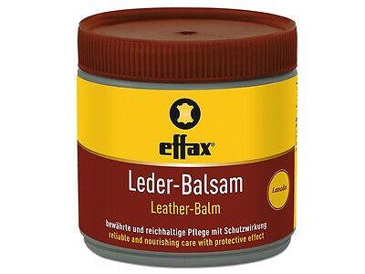 22,90 Euro/Litre - Effax Leather Balsam - receives Gloss and protects - 500ml