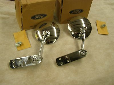 NOS 1956 1966 Ford Pickup Truck F100 Mirrors 1965 1964 1963 1962 1961 1960 1959