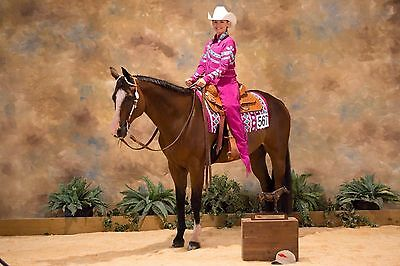 Custom Youth XL/Adult Small Horsemanship Western Pleasure outfit jacket Chaps