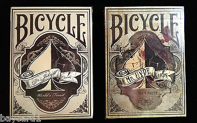 Set of 2 ~ DR. JEKYLL and MR. HYDE Limited Edition Decks ~ Playing Cards
