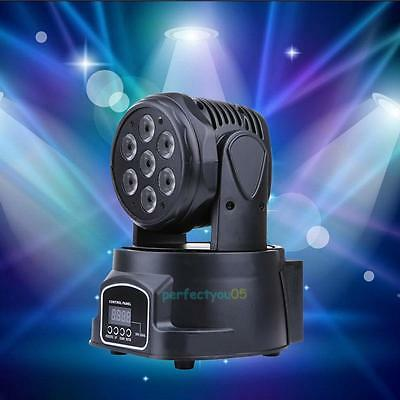 1Pc 140W DMX512 Stage Lighting LED Light Laser RGBW Effect Club Disco Party Bar