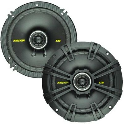 "Kicker CS65 6.5"" 300W Car Speakers with GEN KICKER WARRANTY"