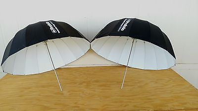 """2x Profoto Deep Small Umbrella (33"""", White S) with carry bags MFR#100983"""