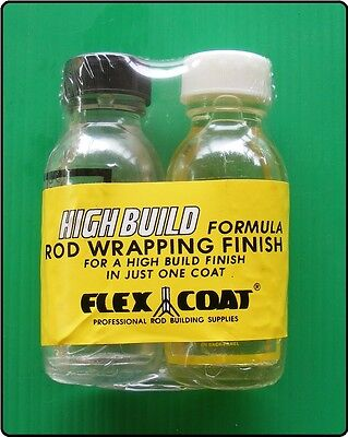 2 oz Flex Coat High Build - Fishing Rod Wrapping Finish - Rod Ring Guide Varnish