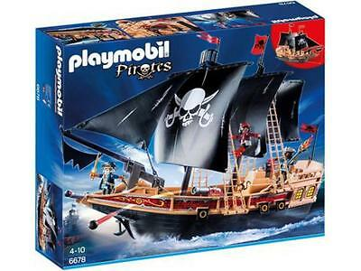 Playmobil Pirates 6678  Piraten-Kampfschiff