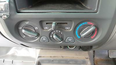 Holden Rodeo Heater/ac Controls Ra, Dual Cab Type, 03/03-10/06