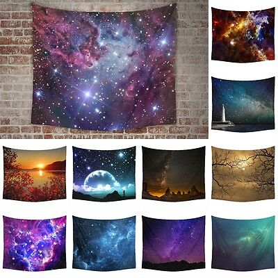 Galaxy Stars Tapestries Large Wall Hanging Tapestry Hippie Bedspread Dorm Decor