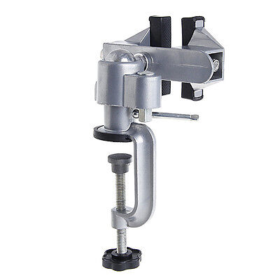 """Universal 3"""" Table Bench Vise Work Bench Clamp Swivel Rotating Hobby Craft New"""