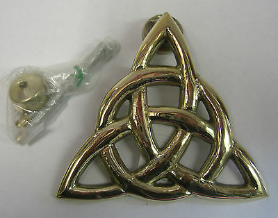 Ireland Hand Crafted Door Knocker Trinity Knot - Medium