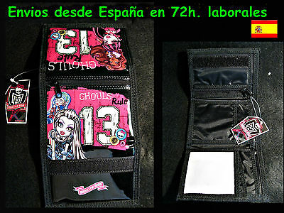Cartera monedero Moster High