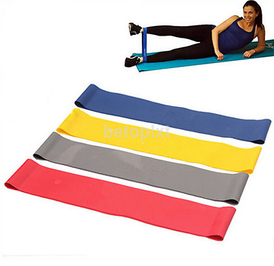 Elastic Band Ankle Resistance Band Leg Butt Lift Fitness Loop Workout Exercise f