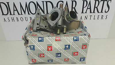 Brand New Genuine Peugeot -  Citroen Engine Water Output Housing 1336P6-Pc
