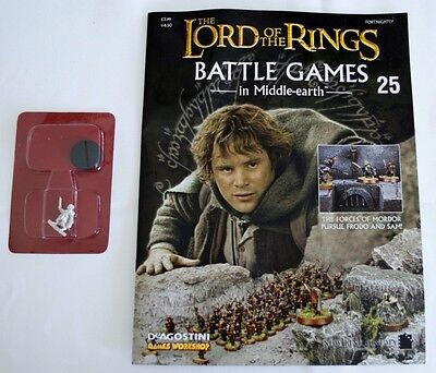Lord Of The Rings:Battle Games In Middle-Earth–Issue #25 Magazine & miniatures