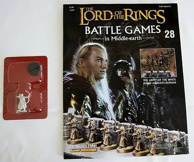 Lord Of The Rings:Battle Games In Middle-Earth–Issue #28 Magazine & miniatures