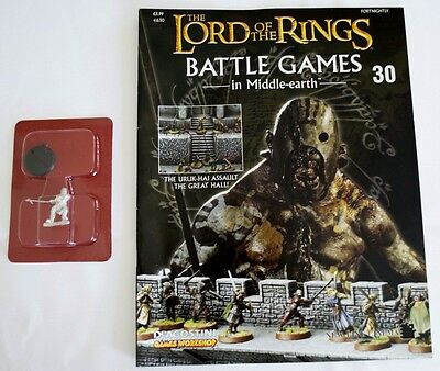 Lord Of The Rings:Battle Games In Middle-Earth–Issue #30 Magazine & miniatures
