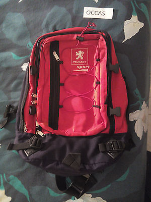 Rare Sac A Dos Tbe Sport Back Bag Vgc Peugeot Sport Occasion Used