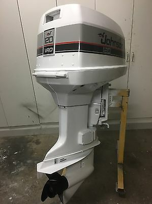 120hp JOHNSON VRO OUTBOARD MOTOR (Will Freight Australia Wide.)