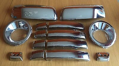 Chrome Set For Range Rover Sport 2005-2009 Handles Fog Mirror Covers