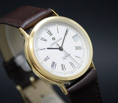 New old stock JUNGHANS NOBLESSE NICE DIAL! vintage quartz watch NOS