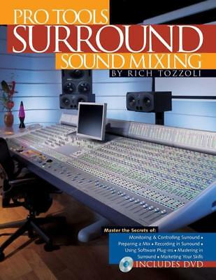 Pro Tools Surround Sound Mixing Book & Cd