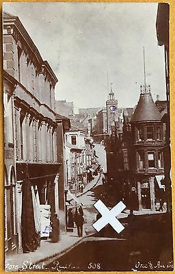 Early Bragg Rp Postcard. Fore Street, Redruth, Cornwall. 1903
