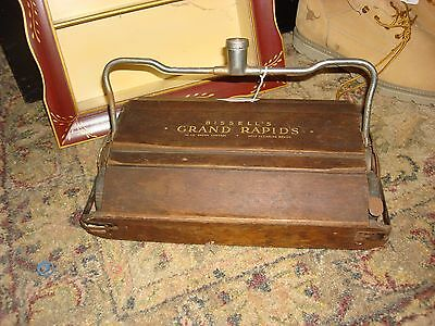 Antique Wooden BISSELL Sweeper Head Estate Find Very Rare Grand Rapids, Michigan