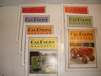 Gas Engine Magazine lot of 7 issues from 1989