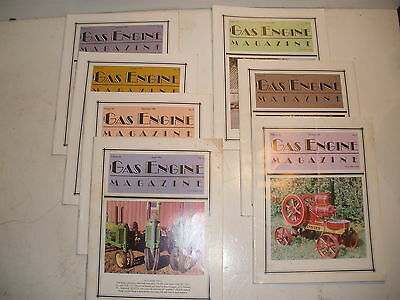 Gas Engine Magazine lot of 7 issues from 1991