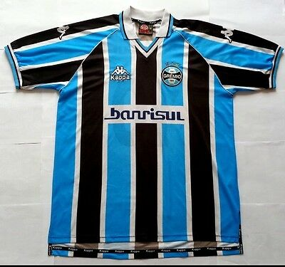 Gremio (brasil) Home Football Shirt Large #10