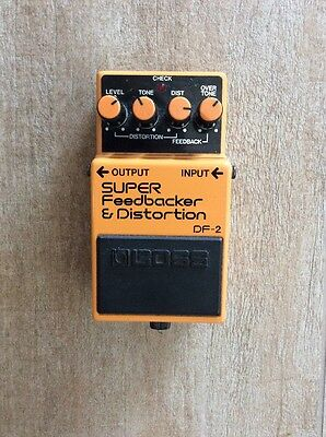 BOSS SUPER FEEDBACKER & DISTORTION, DF-2, pedale chitarra