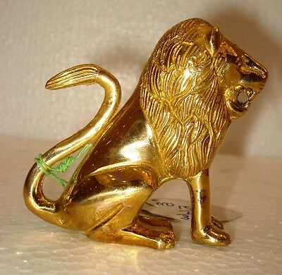 Vintage Style LION statue -BRASS - Traditional LION – Indian