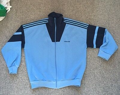 Men's Xl Vintage Retro Adidas Track Suit Top Extra Large Casuals