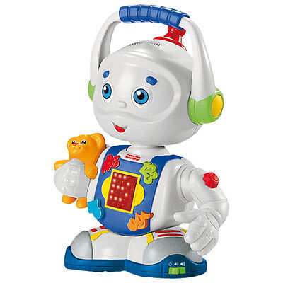 Toby Le Robot - Fisher Price - Bilingue - Ref.B1067