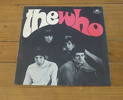 LP - The Who - The Who - 1966 - Int. Polydor Production 623 025