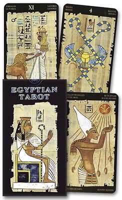 Egyptian Tarot Deck - Ancient Egypt Mysticism - 78 Card Deck & Guide Booklet