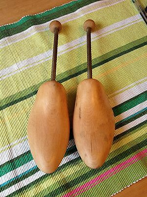 Pair of Vintage Wooden Shoe Stretchers. 48 (size 13)