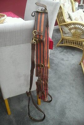 Large Striped Roller And Side Reins Size Cob/ Full