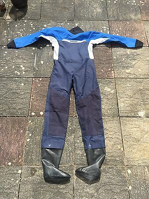 Men's Adults Crewsaver Dry Suit Size XL Extra Large With Fleece Sailing