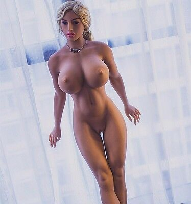 european face full size silicone sex doll for men Muscle body 166cm doll