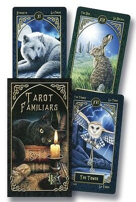 Tarot Familiars - Charm, Mystery & Animal Magic - 78 Card Deck & Guide Booklet