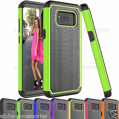 For Galaxy S8 Shock Proof Heavy Duty Armour Builders Workman Case Cover S8 PLUS