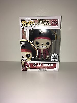 Funko POP! Jolly Roger - Pirates of the Caribbean - Disney Park exclusive