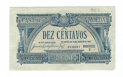 Portugal - 1917, 10 Cent