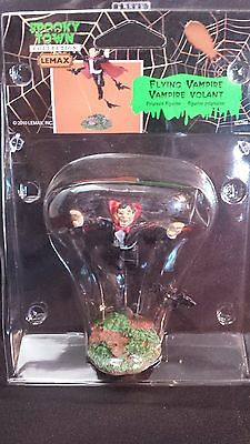 LEMAX SPOOKY TOWN COLLECTION - RETIRED NEW  Flying vampire  2010 Very COOL