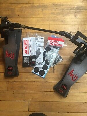 Axis A-2 Longboard Bass Drum Double Pedal Black