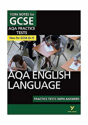 AQA English Language Practice Tests with Answers: York Notes for GCSE ... - Book