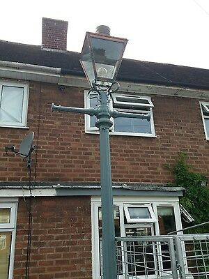 old cast Iron lampost