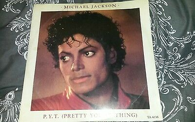 """P.Y.T. (Pretty Young Thing)"" (1984) by Michael Jackson on 12"" vinyl"