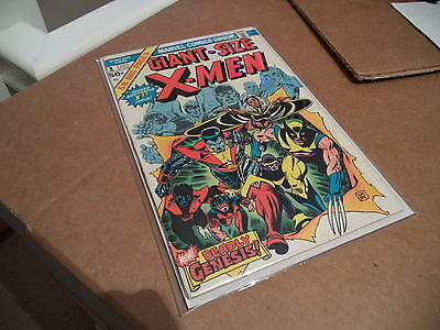Giant Size X-Men #1 • MARVEL • 1975 • 1st Appearance of the New X-Men team • FN+